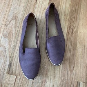 UGG Shoes - UGG Purple Suede Flats